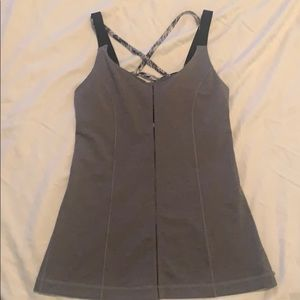 NWOT LULULEMON Tank with built in bra. SZ 4